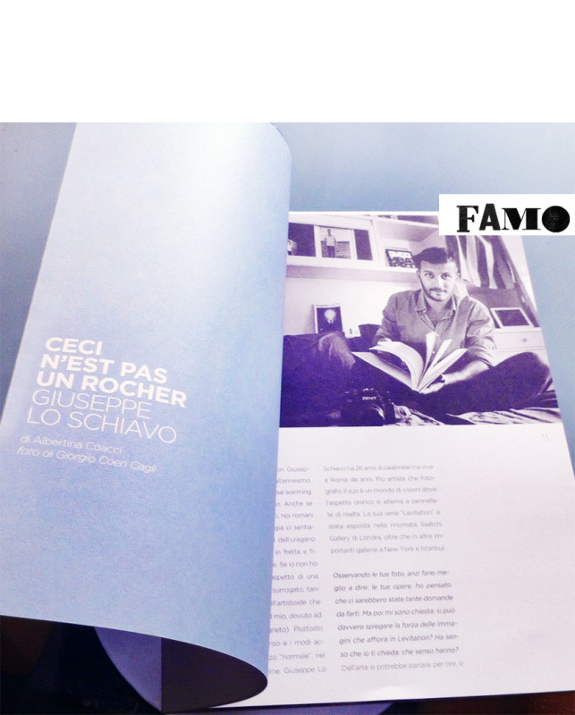 Giuseppe Lo Schiavo on Famo Magazine