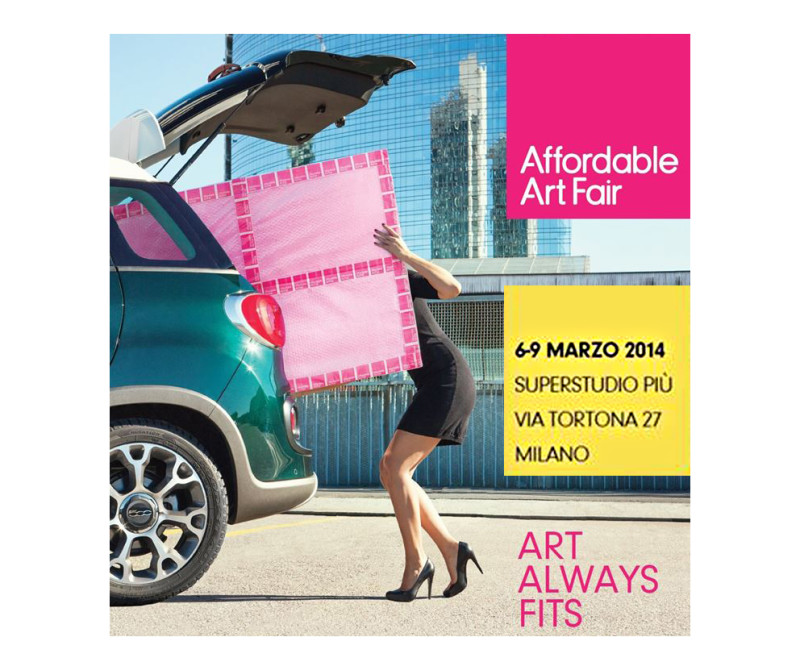 my work at Affordable Art Fair Milano