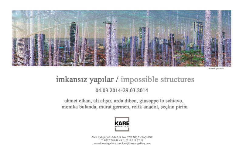 Levitation series – IMPOSSIBLE STRUCTURES – Kare Gallery – Istanbul