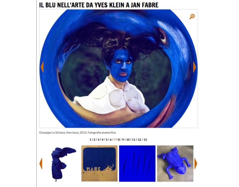 IL BLU NELL'ARTE DA YVES KLEIN A JAN FABRE
