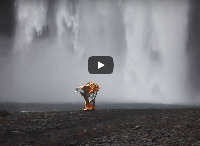 Video filmed in Iceland during the shooting of my series Wind Sculptures