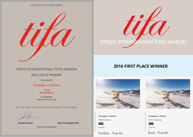 2 gold medals at Tokyo International Foto Awards 2016