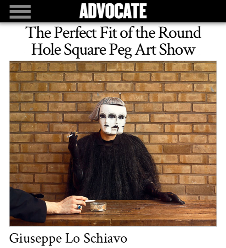 Round Hole Square PEG exhibition at the LA Art Show