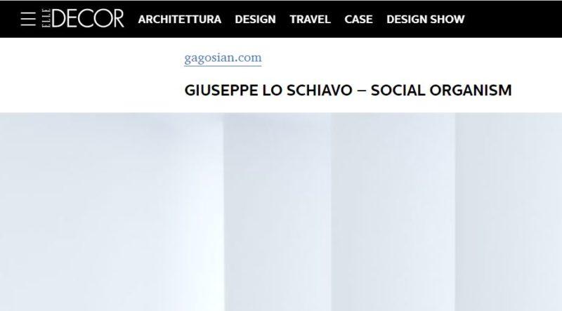 Social Organism on Elle Decor